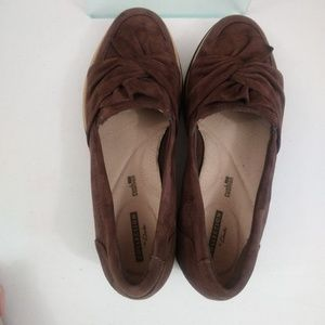 Clarks Shoes - Clarks Collection Loafers Size 8W Brown